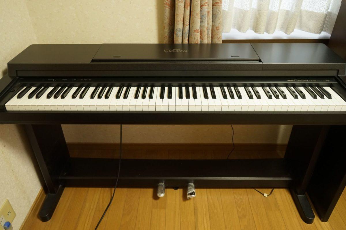 今回手放すことにした電子ピアノ