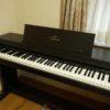 電子ピアノの譜面台