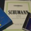 シューマンの歌曲集とCDのコレクション