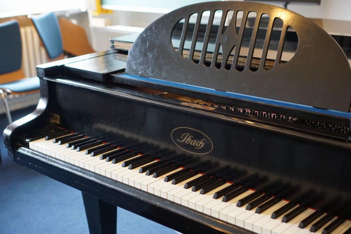 ハンブルクで触ったピアノ
